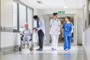 Four Work Hazards for Healthcare Professionals