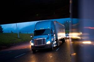 Safety Features Could Reduce Crashes with Large Trucks